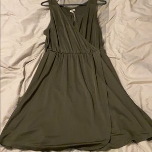 A New Day Green Wrap Dress NWT Large
